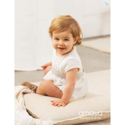 PELELE BABY EN LINO PLUMETI ATEMPORAL