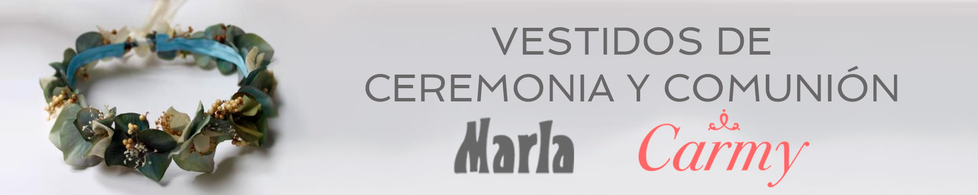Vestidos comunion Marla y Carmy - Moda Infantil Maricarmen